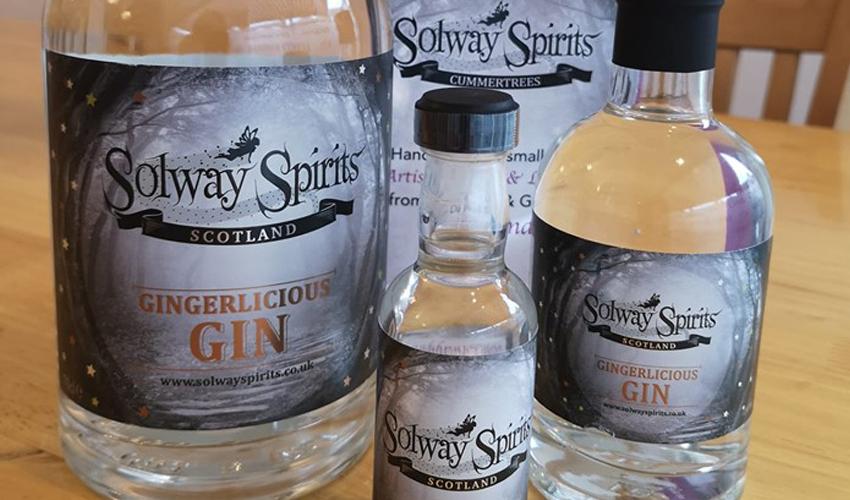 Solway Spirits Gingerlicious Gin