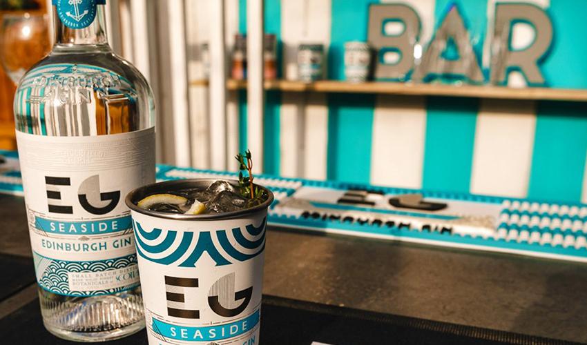 Edinburgh Gin Beach Bar