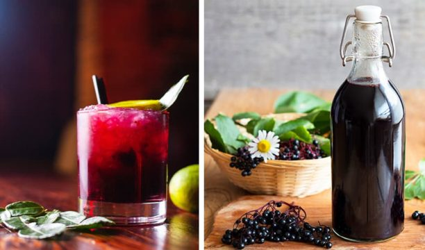 Featured Image for How to Make Your Own Elderberry Gin