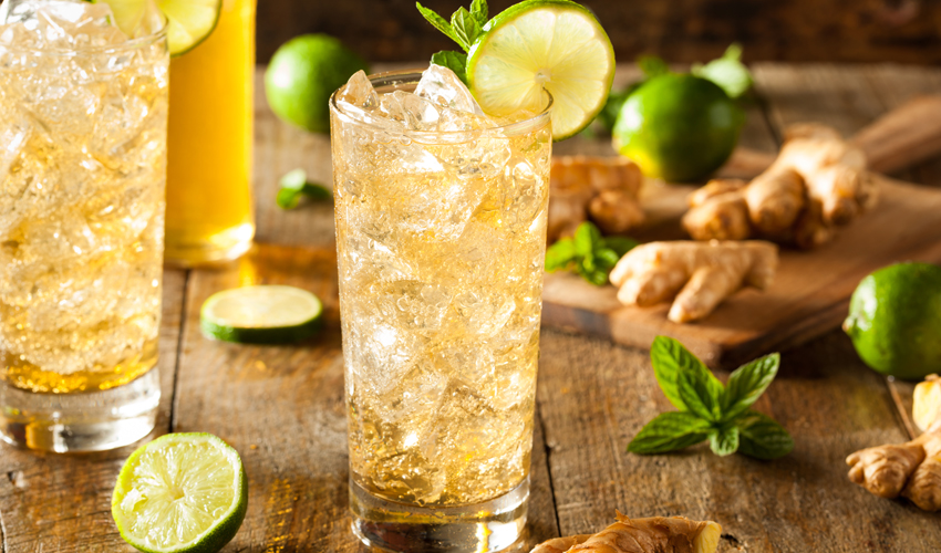 gin and ginger ale