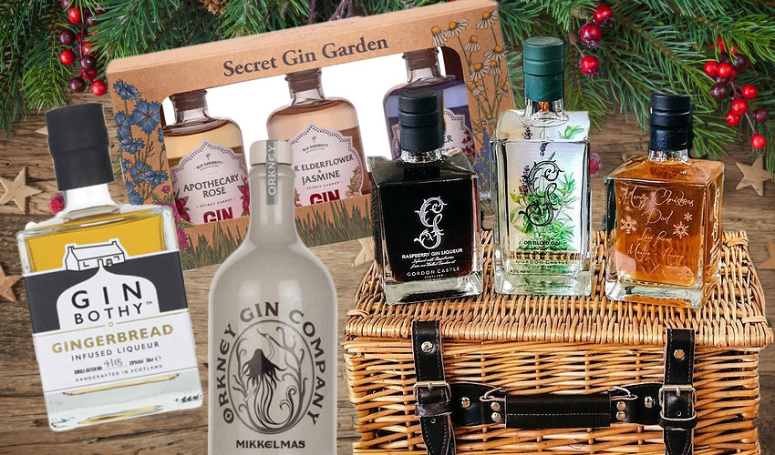 gin christmas gifts
