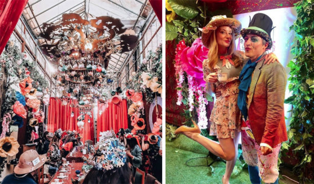 mad hatter gin and tea party