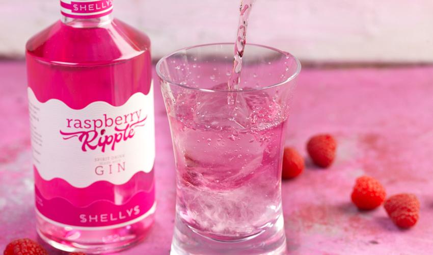 raspberry ripple gin