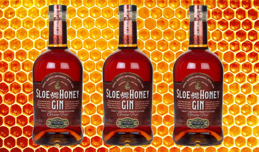 sloe and honey gin