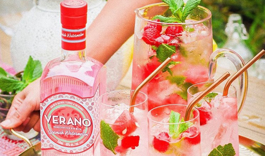 watermelon gin cocktail