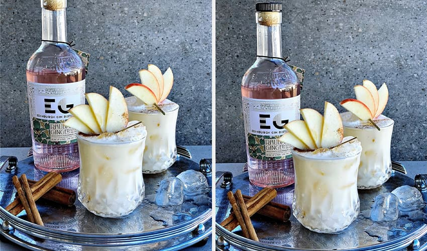 Featured Image for This Dreamy Apple Pie Gin Cocktail Is the Taste of Autumn