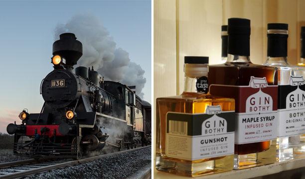 gin bothy sloe train