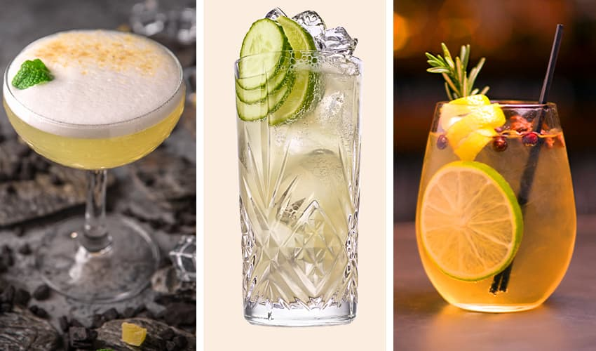 Featured Image for Ginger Gin Cocktails That'll Add a Bit of Spice to Your Evening