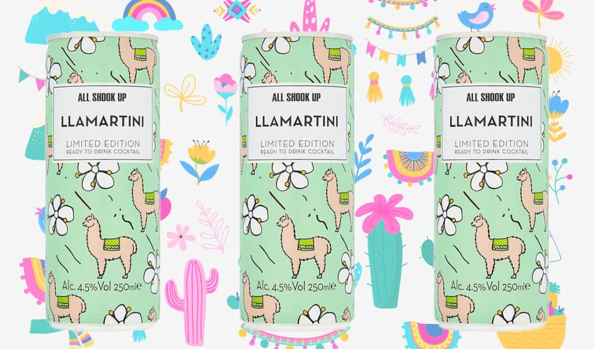 Featured Image for The Llamartini Gin Cocktail Can Is Here to Quench Your Thirst and Tantalise Your Tastebuds