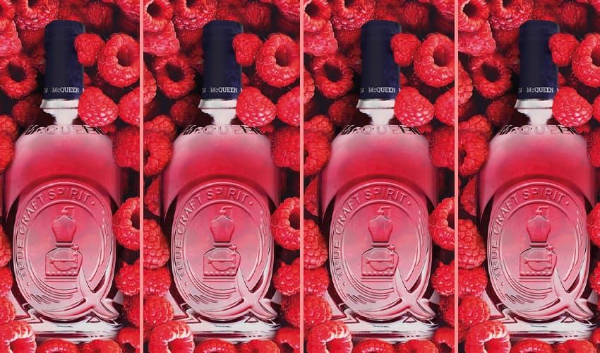 mcqueen raspberry and vanilla gin