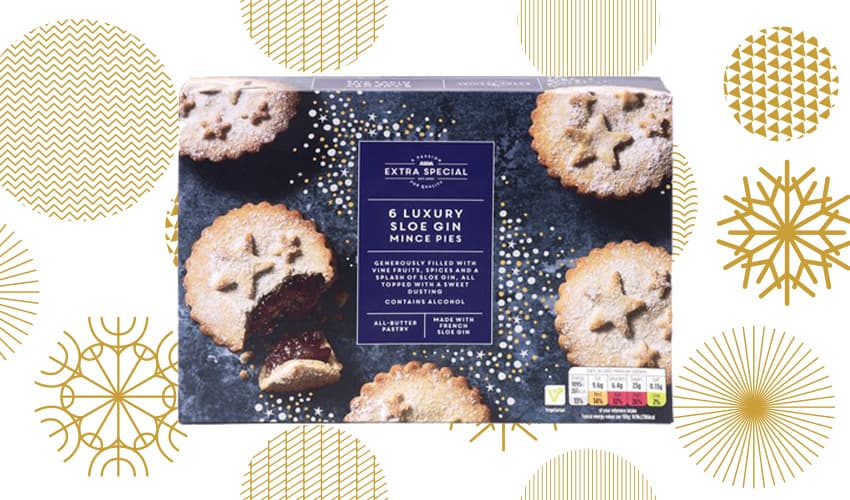 Featured Image for ASDA Offers Gin-Infused Mince Pies to Kickstart the Festive Countdown