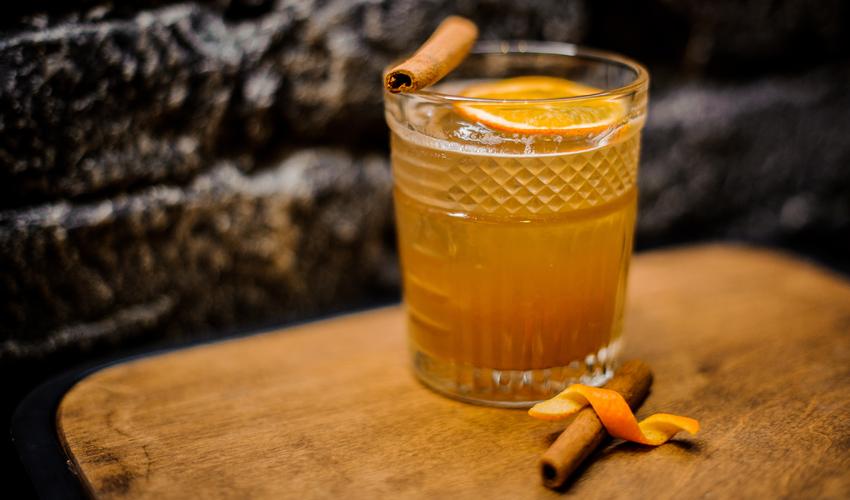 orange and cinnamon gin recipe