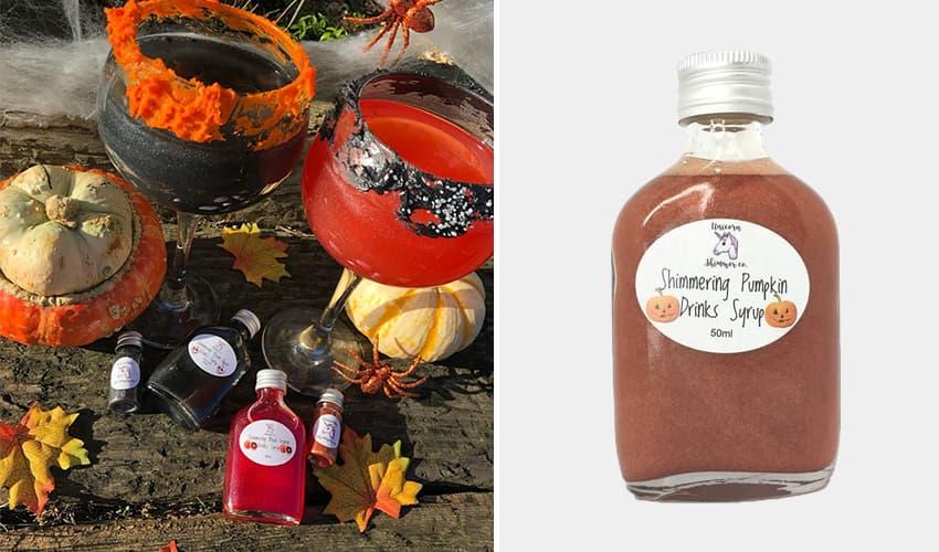 pumpkin shimmer syrup