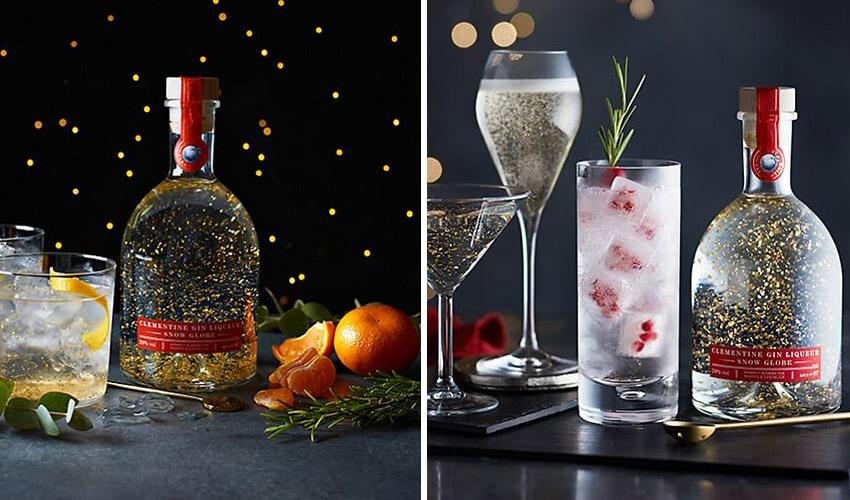 M&S snow globe gin