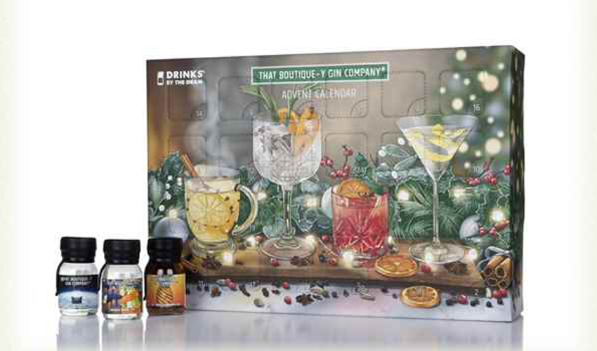 boutiquey gin advent calendar 2019