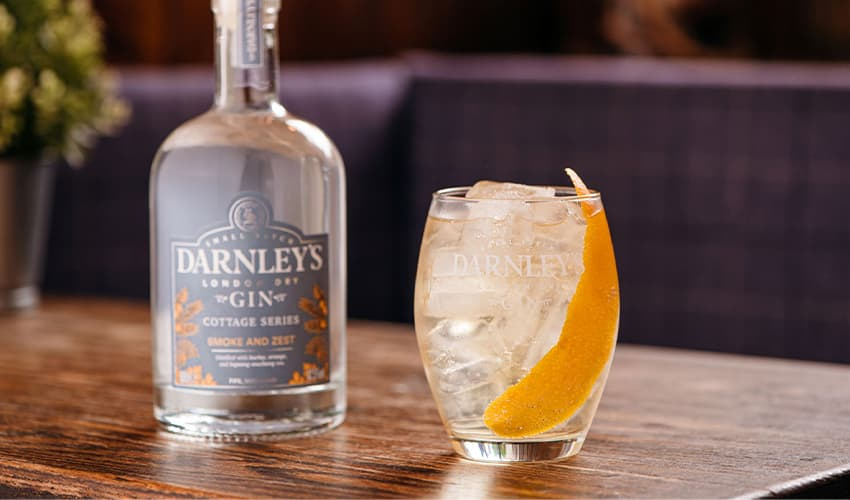 darnley's smoky gin