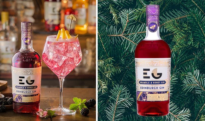 edinburgh gin bramble and honey