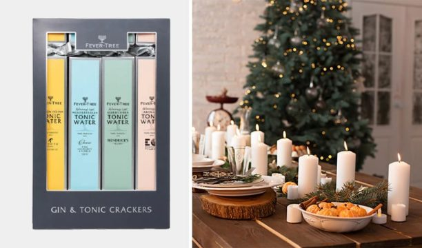 fever tree christmas crackers