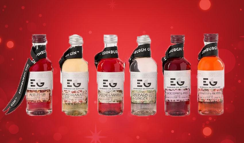 Edinburgh gin baubles