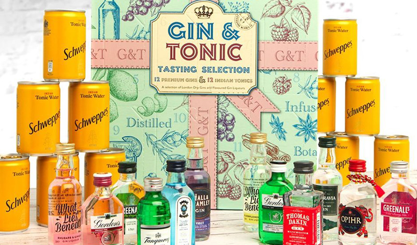 Home Bargains Gin & Tonic Tasting Selection