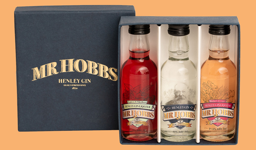 Mr Hobbs gin miniatures