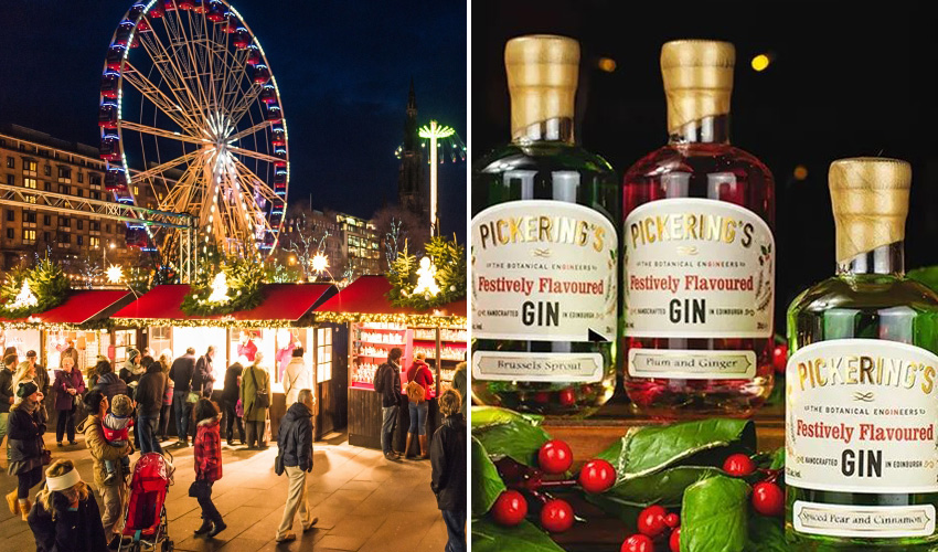 Featured Image for You Can Get a Hot Gin Toddy at Pickering's Pop-Up Gin Experience