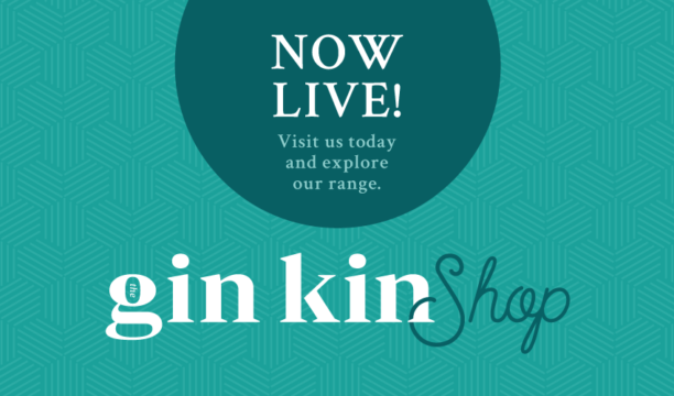 Gin Kin Shop is Now Live!