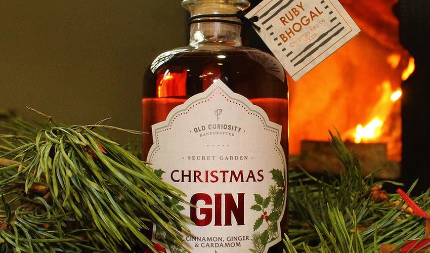 spiced christmas gins