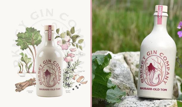 Rhubarb Old Tom Gin