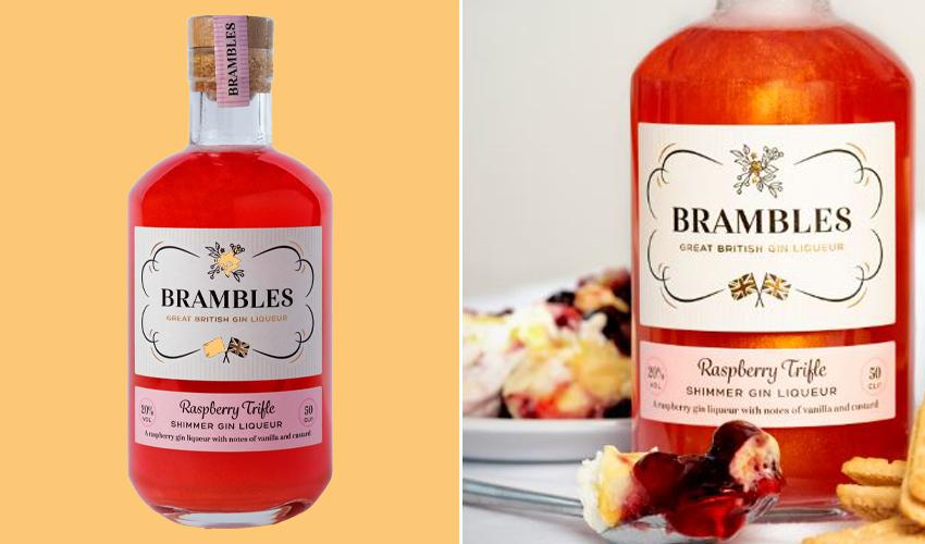 B&M raspberry gin liqueur