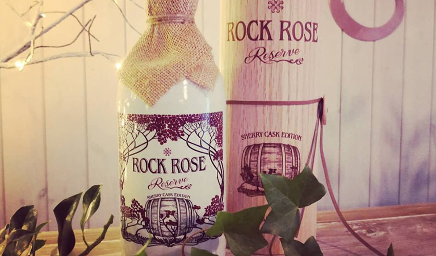 rock rose sherry cask edition