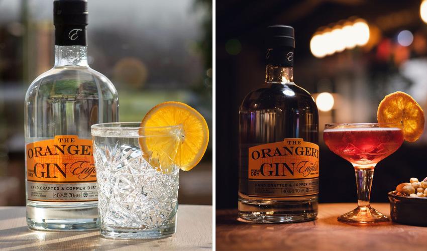 orangery gin english drinks company