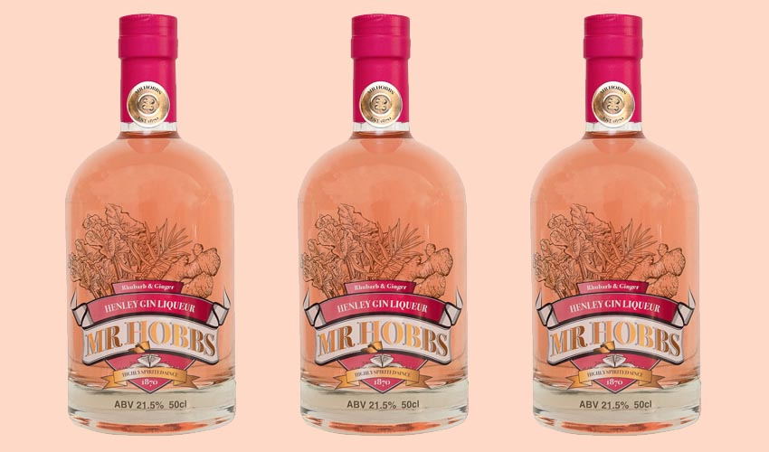 Featured Image for Review: Mr Hobbs Rhubarb and Ginger Gin Liqueur