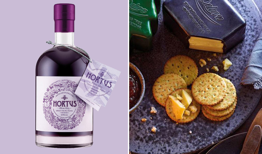 Featured Image for You Can Now Enjoy Sloe Gin-Infused Cheese Throughout the Festive Period