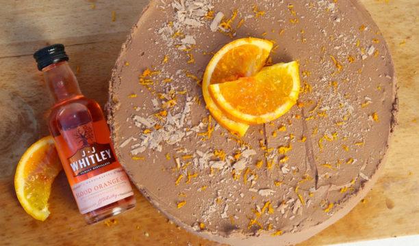 Blood Orange Gin & Chocolate Cheesecake
