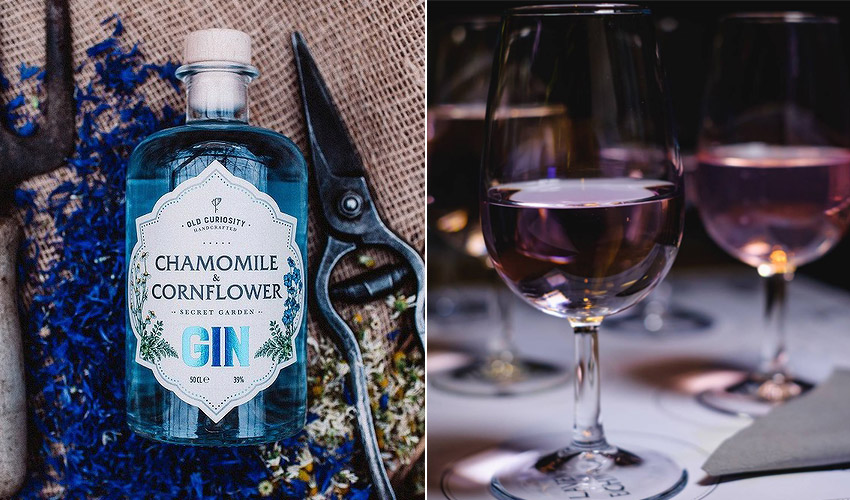 chamomile & cornflour gin