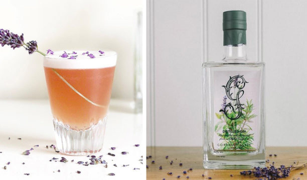 This Light and Lovely Botanical Gin Creates the Prettiest Lavender and Plum Cocktail