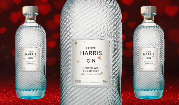 Harris Gin Has Revealed a Cute New Bottle Design for Valentine's Day