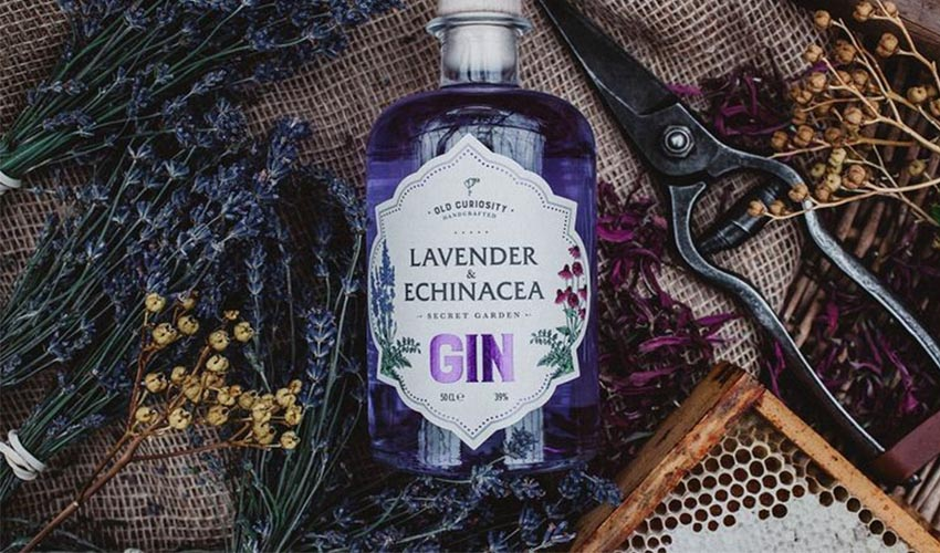 Featured Image for Lavender and Echinacea Gin Is the Ultimate Herbal Tonic