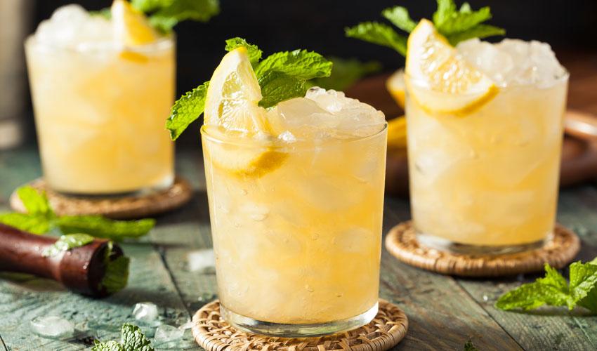 lemon sherbet gin