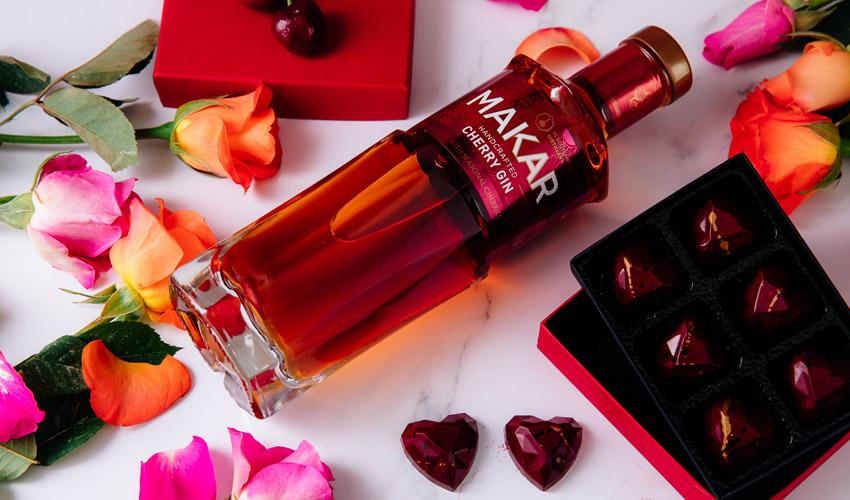 makar cherry gin chocolates