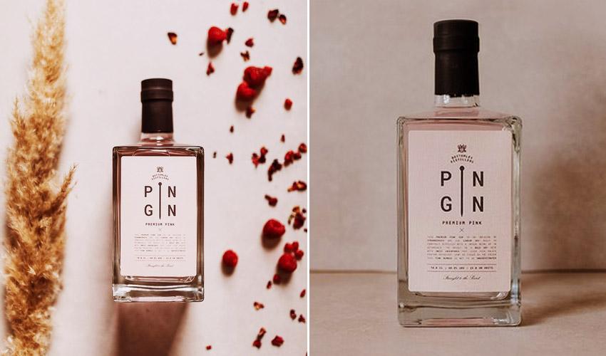 pin gin premium pink