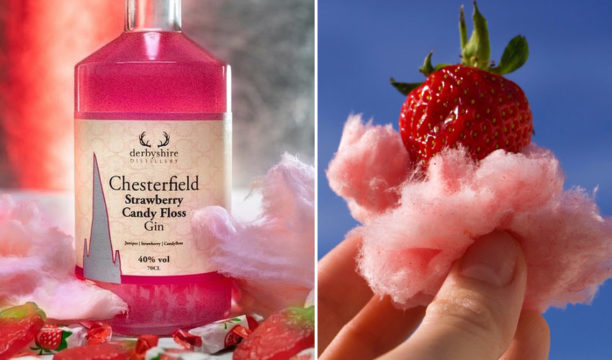 strawberry candy floss gin