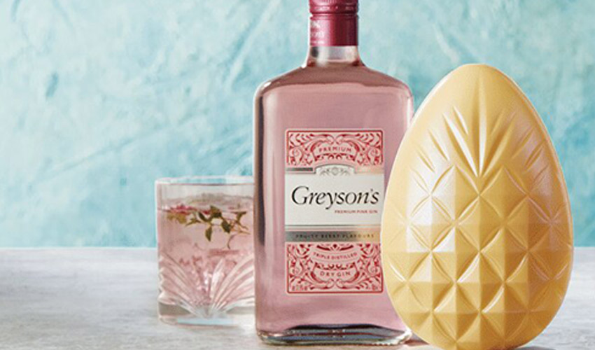 aldi gin and prosecco chocolate eggs