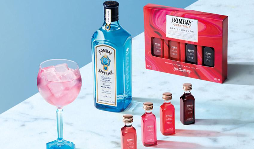 bombay sapphire gin liqueurs