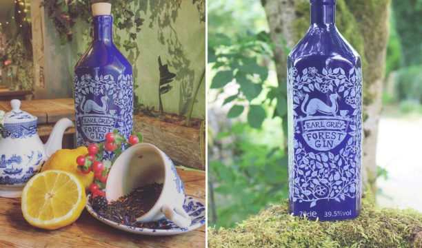 Earl Grey Forest Gin Fuses Together Two of the Nation's Best-Loved Drinks