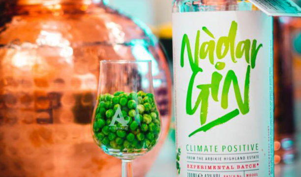 Nàdar Pea Gin Is a New Carbon Positive Ultra Eco-Friendly Tipple