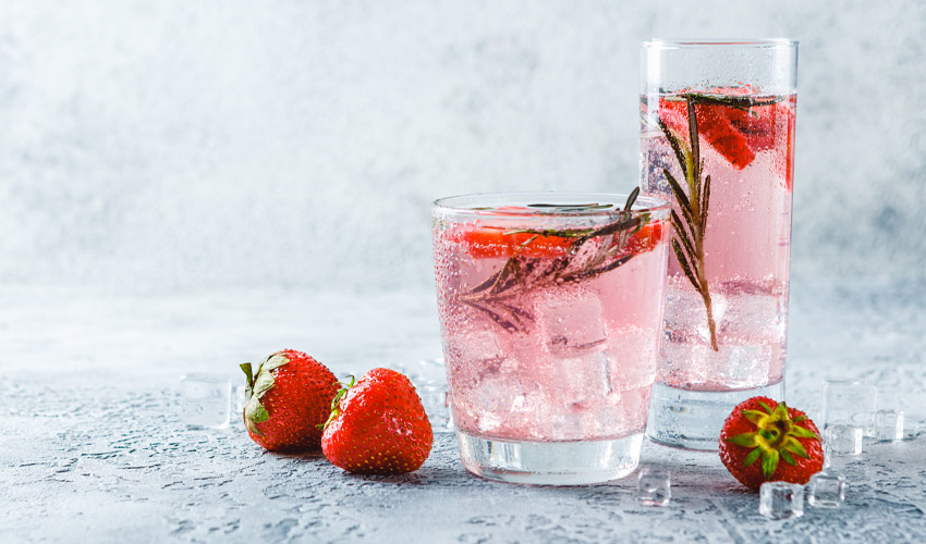 how to make pink gin