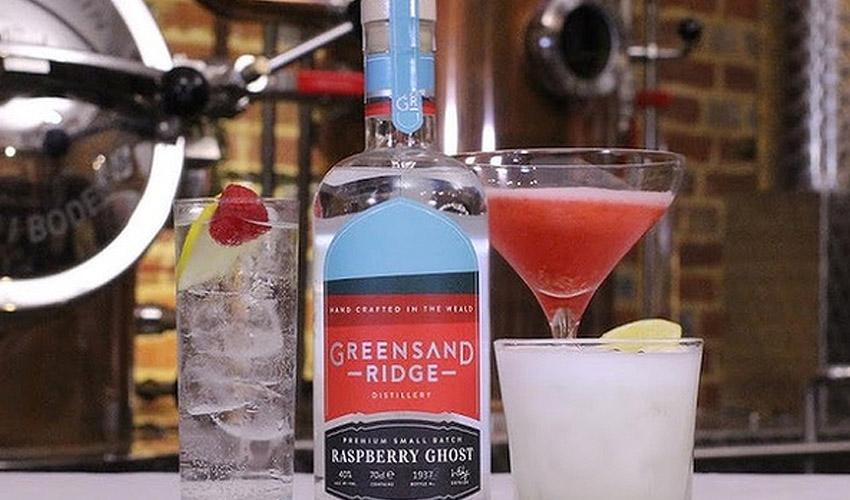 greensand ridge raspberry ghost gin