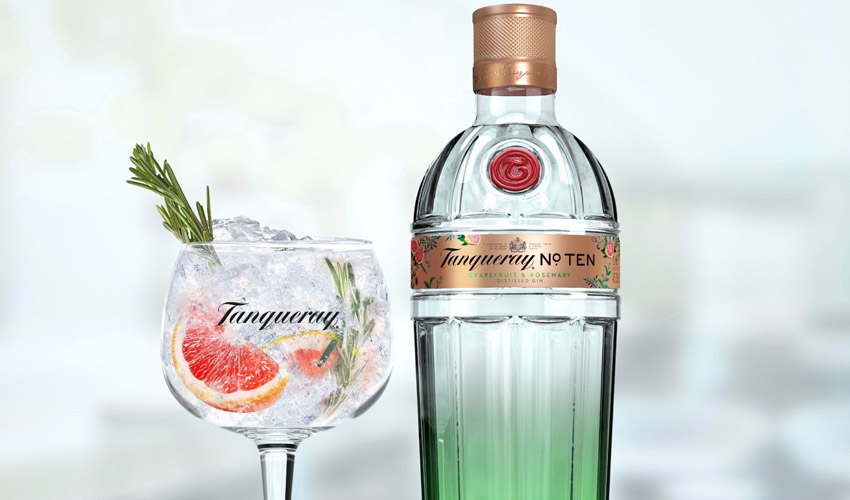 tanqueray No. Ten grapefruit & rosemary